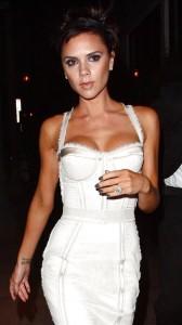 Victoria Beckham cleavage