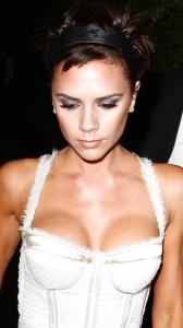Victoria Beckham sexy cleavage