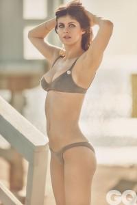 Alexandra Daddario bikini top