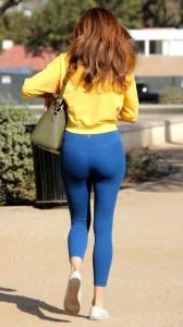 Blanca Blanco sexy leggins