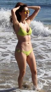 Blanca Blanco tight green bikini