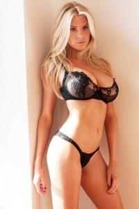 Charlotte McKinney sexy lingerie