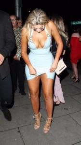Chloe Ferry big tits cleavage