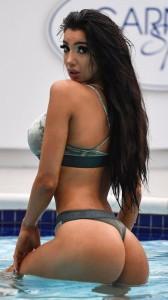 Chloe Khan bikini bottoms