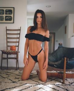 Emily Ratajkowski sexy and sweet