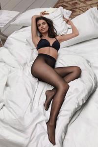 Emily Ratajkowski stockings
