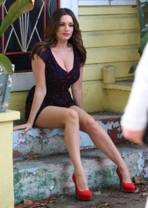 Kelly Brook sexy cleavage