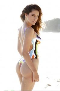 Kelly Brook swimsuit shoot