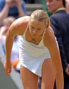 Maria Sharapova oops
