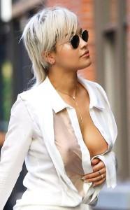 Rita Ora nipple slip