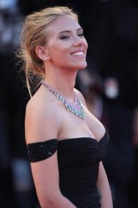 Scarlett Johansson hot black dress
