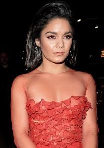 Vanessa Hudgens sexy red dress