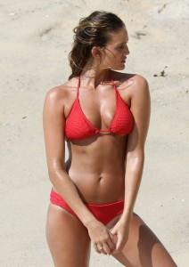 Alyce Crawford sexy mini bikini