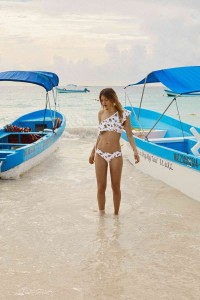 Caroline Corinth sexy bikini