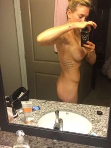 Charlotte Flair tits