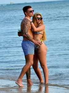 Chloe Ferry with boyfriend