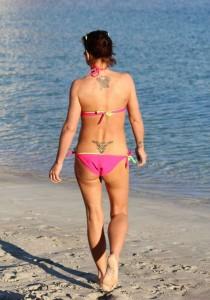 Danniella Westbrook beach