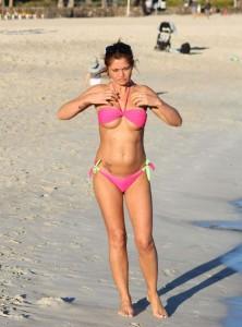 Danniella Westbrook mini bikini