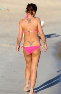 Danniella Westbrook tattoo