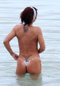 Danniella Westbrook tattoo 2