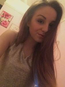 Eden Taylor-Draper selfie private