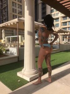 Jemma Lucy thong bikini