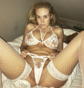 Lucie Brooks lingerie see through