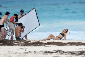 Rosie Huntington-Whiteley bikini shoot 2