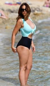 Vicky Pattison hot swimsuit