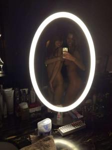 Xenia Lukash with girlfriend nude