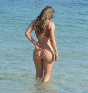 Abigail Clarke sexy ass