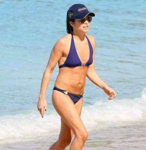 Andrea Corr at beach