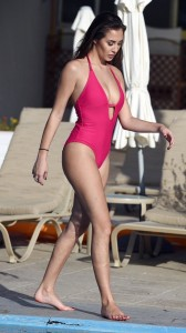 Chloe Goodman sexy cleavage