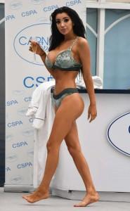 Chloe Khan sexy boobs