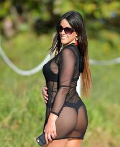 Claudia Romani huge booty