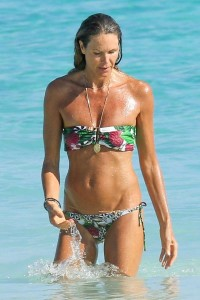 Elle Macpherson thong bikini