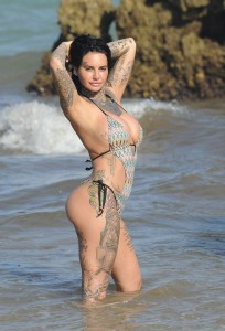 Jemma Lucy huge cleavage
