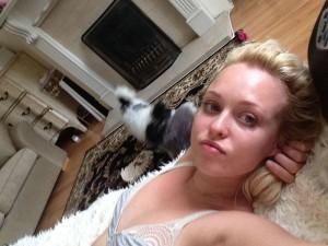 Jorgie Porter leaked selfie