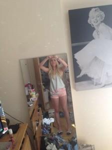 Jorgie Porter selfie