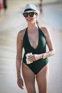 Lauren Silverman sexy swimsuit