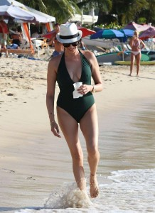 Lauren Silverman swimsuit pokies