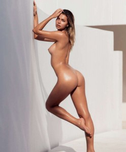 Sandra Kubicka fully nude