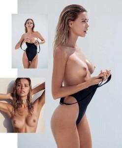 Sandra Kubicka topless photoshoot
