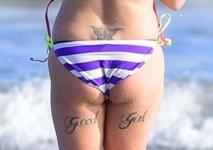 Simone Reed tattoo