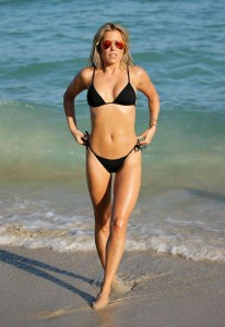 Sylvie Meis hot bikini