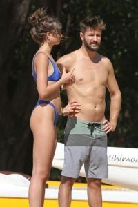 Taylor Hill shows off her sexy bikini body in Lanai
