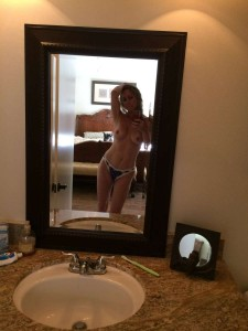 Carrie Michalka topless pic