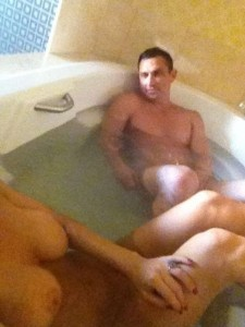 Jenny McCarthy nude bathroom