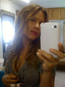 Kiele Sanchez selfie