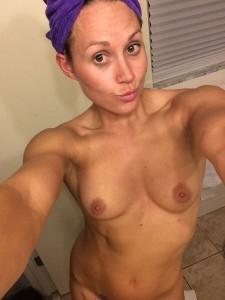 Kymberli Nance nipples selfie
